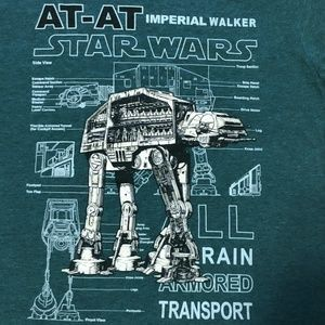 NWOT Star Wars Mens Tee - Size Small